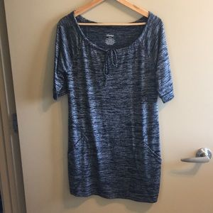 Soma Half Sleeve Dress with Pockets